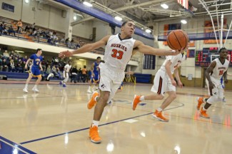 Craig Shelton, who also plays football at OPRF, is an excellent athlete that plays along the perimeter. (Alexa Rogals/Staff Photographer)