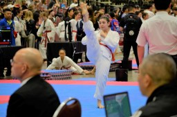 Ariana Ramos took bronze in the individual poomsae competition at the 2019 USA Taekwondo Nationals in Minneapolis. (Submitted Photo)