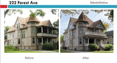 222 Forest Ave. | Courtesy Oak Park Historic Preservation Commission