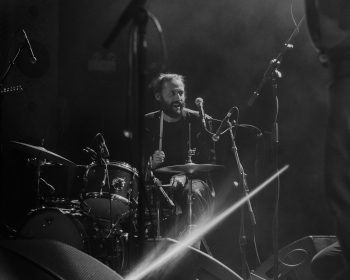 James Krivchenia at a concert at The Metro in Chicago. | Photo by Alex Perez
