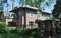 Ashley C. Smith residence by architects Tallmadge & Watson, 1908