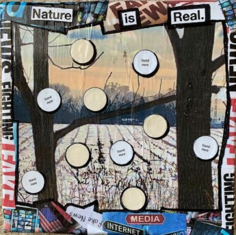 """""""Nature is Real"""" by Julie Gard Freeney"""