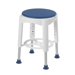 Revolving Chair Spare Parts Cover Hire Worcester Rtl12061m Swivel Seat Shower Stool Oakpointe Medical