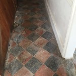 This is the original flooring grade 2 listed farmhouse St buryan