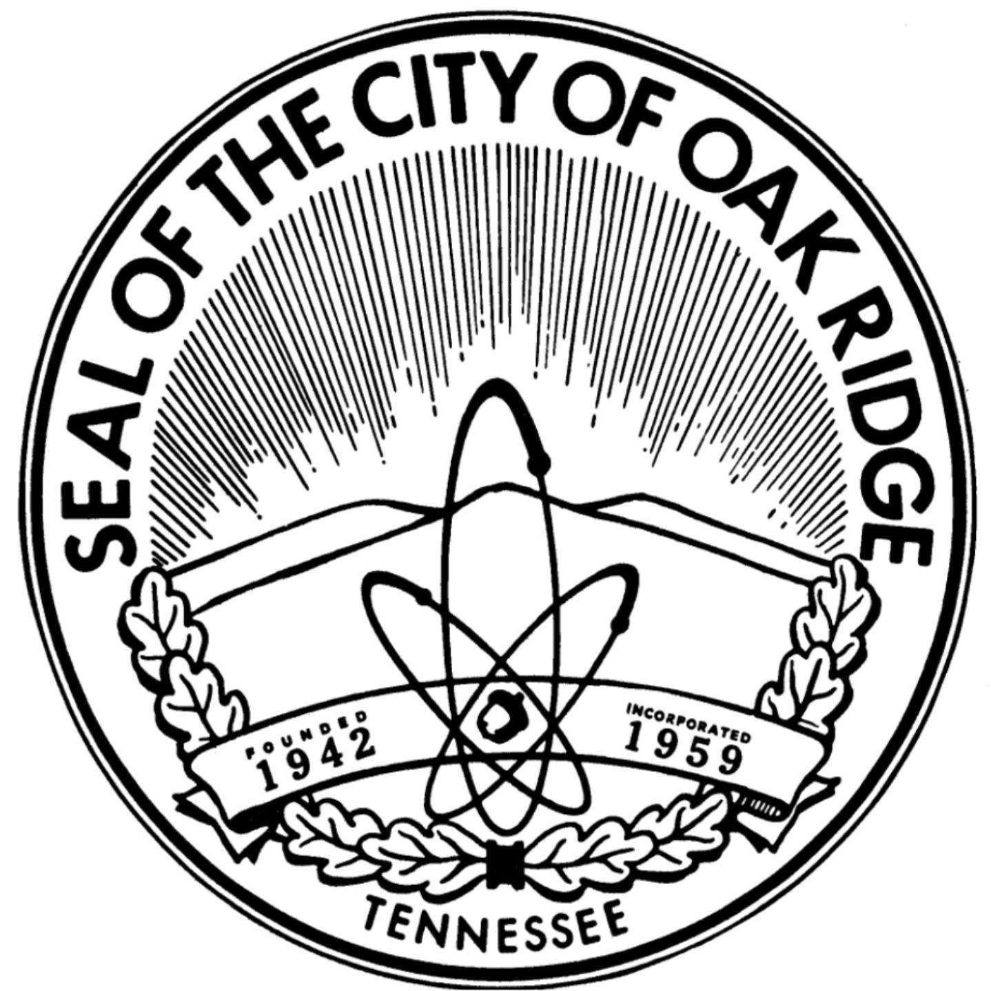 Welcome to the City of Oak Ridge, Tennessee