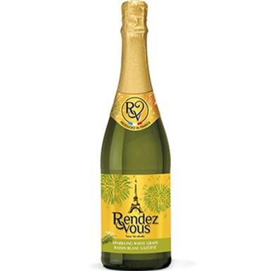 Rendez Vous White Grape 750ml - Non-Alcoholic Sparkling Juice ...
