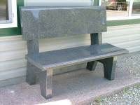 headstone benches cemetery memorial benches