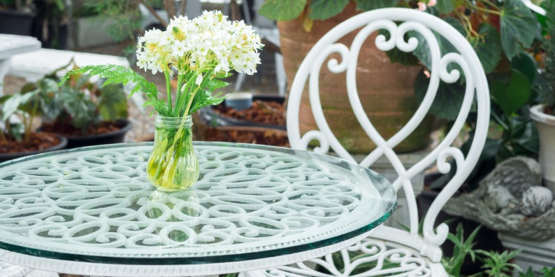 for wrought iron patio furniture sets