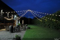 Outdoor Lighting Hire | Oakwood Events