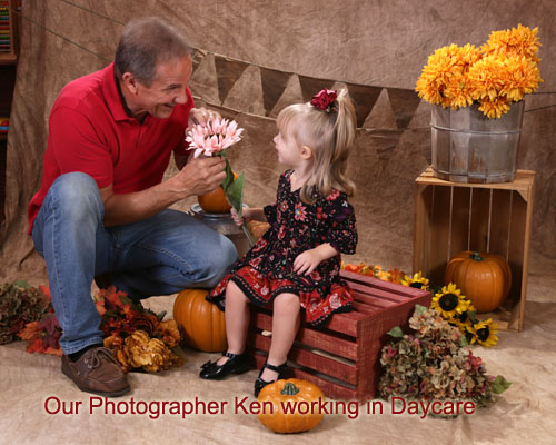 Photographer at Daycare Pictures
