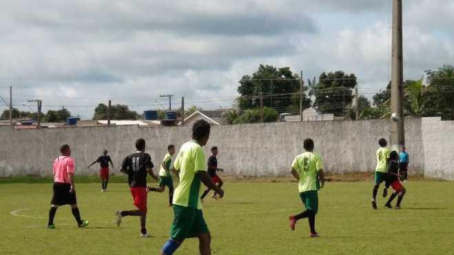 32 equipes da zona rural e urbana estão participando do campeonato amador - Fotos: Assessoria