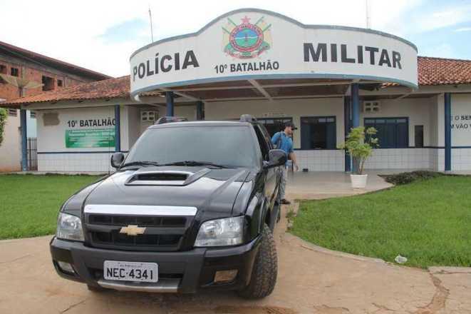 Caminete já estava com documentos adulterados e placas de outra cidade do mesmo estado - Fotos: Alexandre Lima