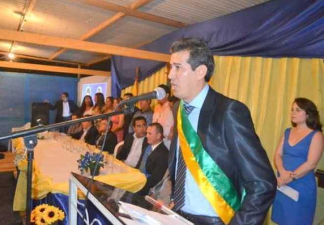 Doutor Betinho foi empossado nesta terça-feira como prefeito do município de Assis Brasil/Fotos: Wania Pinheiro