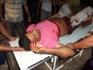 Lorivaldo ainda chegou consciente no hospital de Brasiléia e foi tranferido para Rio Branco - Foto; Alexandre Lima