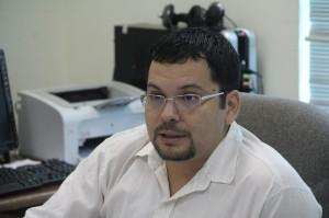 Juiz do Instituto Penal Cautelar Diego Bandir Joca Saucedo - Foto: Alexandre Lima