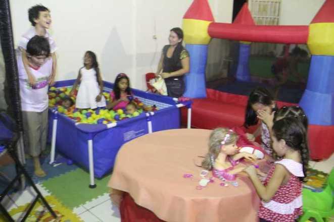 Crianças tem um espaço dedicado a eles em Brasiléia