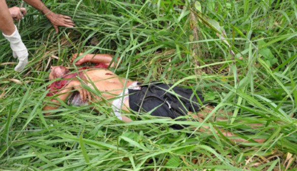 A polícia suspeita que a vítima possa ser Donizete Barros Cruzeiro, 57 anos/Foto: Selmo Melo