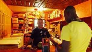 Francisco Jerônimo, comerciante de Brasileia, que atende a haitianos diariamente