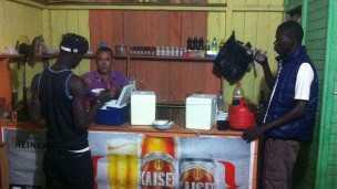 Bar do José Batista, em Epitaciolândia, frequentado por senegaleses