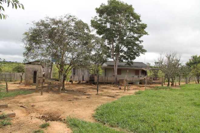 Local onde grupo de amigso foram surpreendidos por homens armados - FOtos: Alexandre Lima