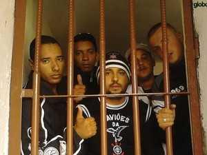 Imagem de fevereiro, quando os doze corintianos ainda estavam presos na Bolívia  (Foto: Ricardo Taves/Globoesporte.com)