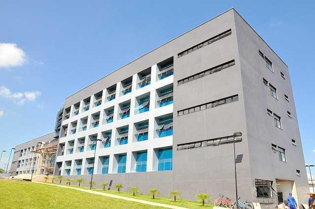 Fachada do sofisticado prédio que servirá como sede da PF no Acre