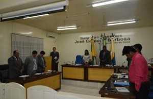 Sessão na Câmara Municipal de Brasiléia - Foto: Assessoria