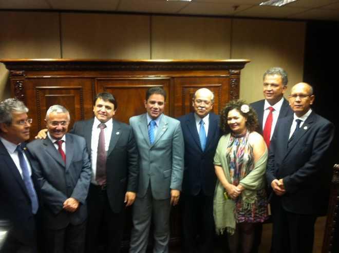 Reunião da Bancada no Ministério dos Transportes - Foto: Divulgação