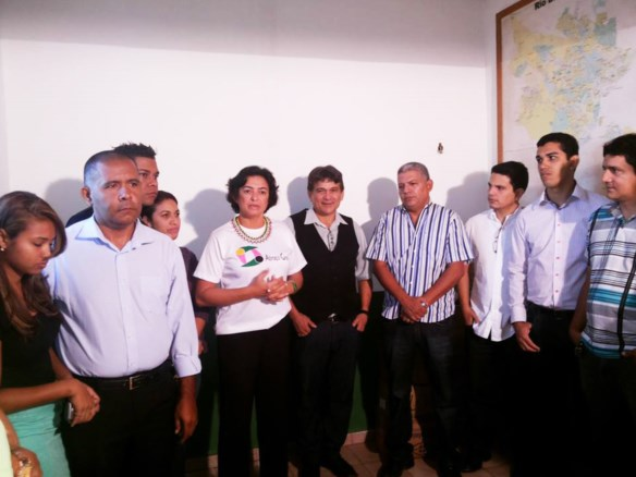 Lideranças do PV anunciam saída do partido da Frente Popular do Acre/Foto: Agência ContilNet