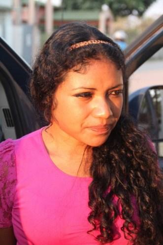 Mulher saiu da cidade de Lima, capital do Peru com destino à São Paulo. Iria receber mil dólares caso completasse sua viajem. Foto: Alexandre Lima