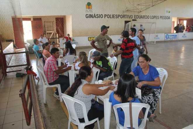 Votação acontece no ginásio de esporte do Município - Foto: Alexandre LIma