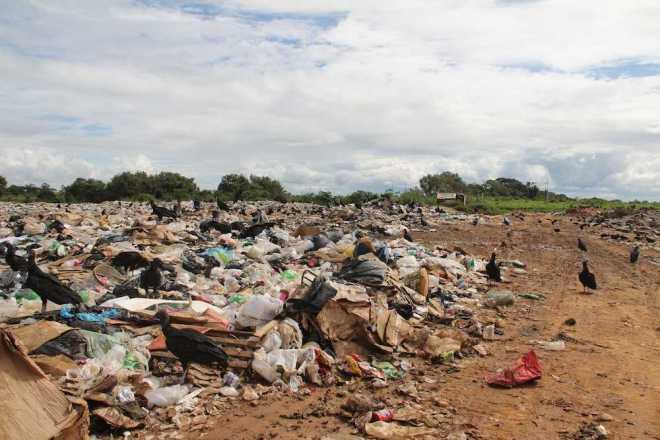 Lixão existente no município de Brasiléia - Foto: Alexandre Lima/Arquivo