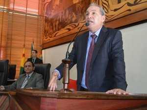 Carlos Costa apresentou duas propostas durante audiência (Foto: Caio Fulgêncio/G1)