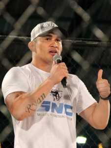 Francimar Bodão, da Nova União, lutador de MMA do Acre (Foto: João Paulo Maia)