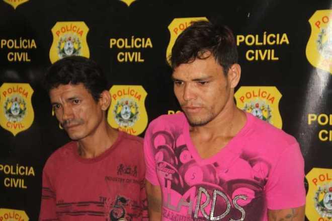 Francisco (e) e Donis poderão ser transferidos para o presídio na Capital nas próximas horas - Foto: Alexandre Lima