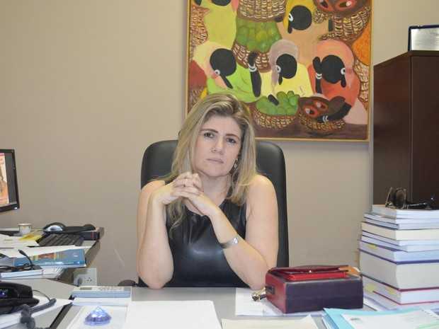 Promotora Alessandra Marques espera que processo contra a Telexfree seja concluído até a metade de 2014 (Foto: Yuri Marcel/G1)