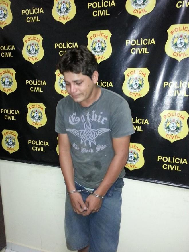 Jardel Pereira da Silva, que chegou a chorar na delegacia, é considerado de alta periculosidade e procurado por assalto no estado do Rio Grande do Norte (RN)
