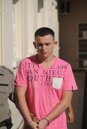 """Jonathan, o """"Ferrugem"""", foi condenado a 17 anos, um mês e 10 dias - Foto: Alexandre Lima"""