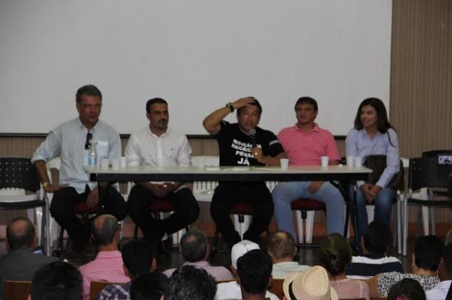 Malta proferiu palestra sobre a família no auditório do Sebrae
