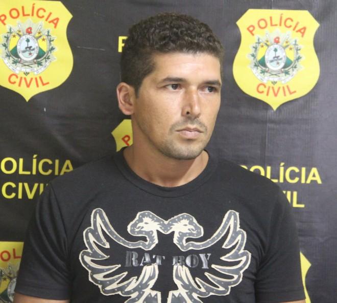 Francisco foi localizado e detido no ramal do km 84 e será transferido ao presídio na Capital - Foto: Alexandre Lima