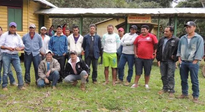 Marcinho Miranda visitou comunidade - Foto: Assessoria