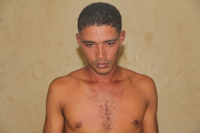 Natalício foi preso após ter ameaçado pessoas, policiais e invadido uma residência - Foto: Alexandre Lima