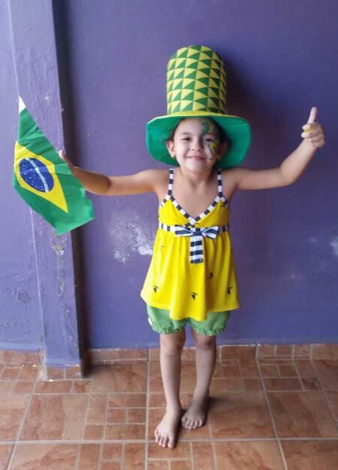Torcida para o Brasil não tem idade - Foto: cedida