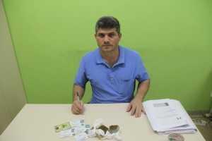 Delegado Sergio Lopes recebeu a denuncia e montou uma blitz na BR 317 - Foto: Alexandre Lima