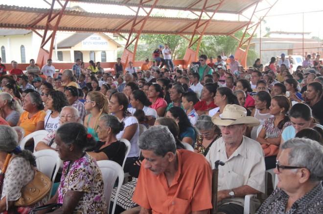 População compareceu ao evento - Foto: Alexandre Lima