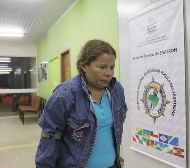 Aldenice voltava da Capital onde foi visitar seus filhos no presídio - Foto: Alexandre Lima