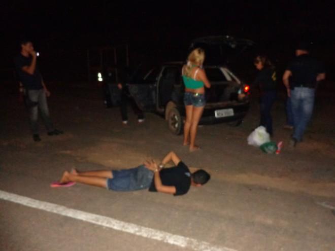 Casal foi preso em flagrante delito e conduzidos à delegacia de Xapuri