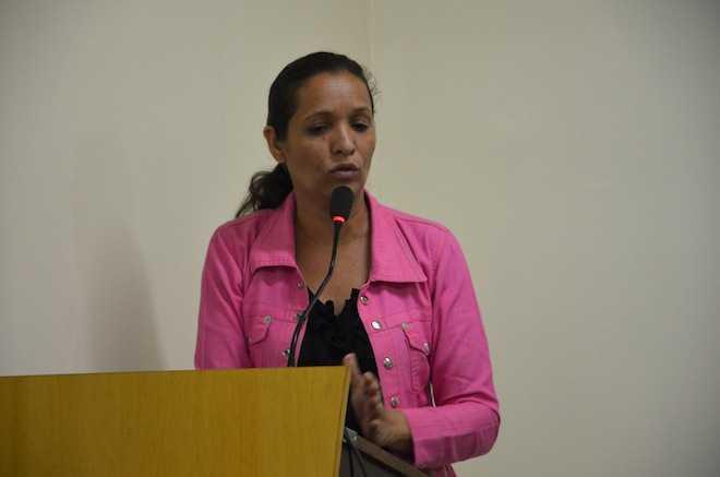 Vereadora do Partido dos Trabalhadores de Brasiléia, Erizete Moraes - Foto: Divulgação