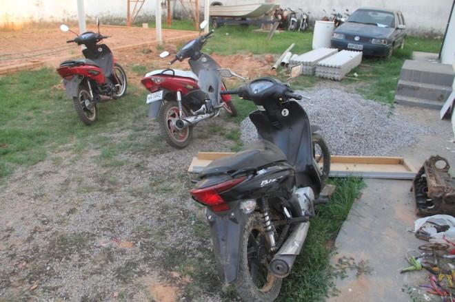 Duas das motos já foram devolvidas aos proprietários