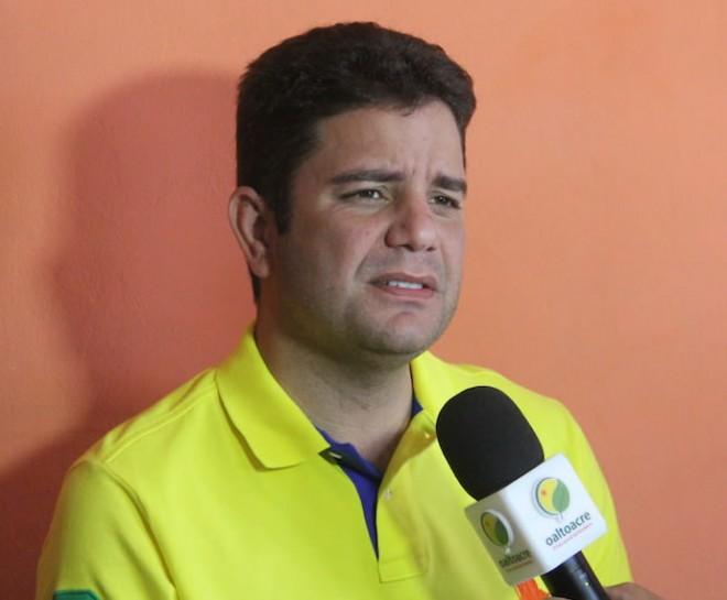 Gladson foi eleito o mais novo senador do Brasil aos 36 anos - Foto: Alexandre Lima